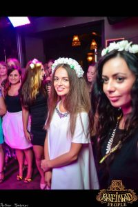 "Girls Night in Lviv: ""Flowers in their hair"" while applauding their best friend who is getting married at 19: despite the cliché Ukraine's nightlife is moderate and free of excess."