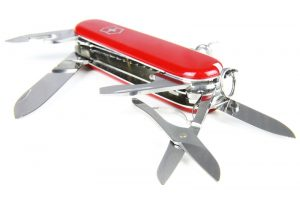 What to Pack: Swiss Army Knife