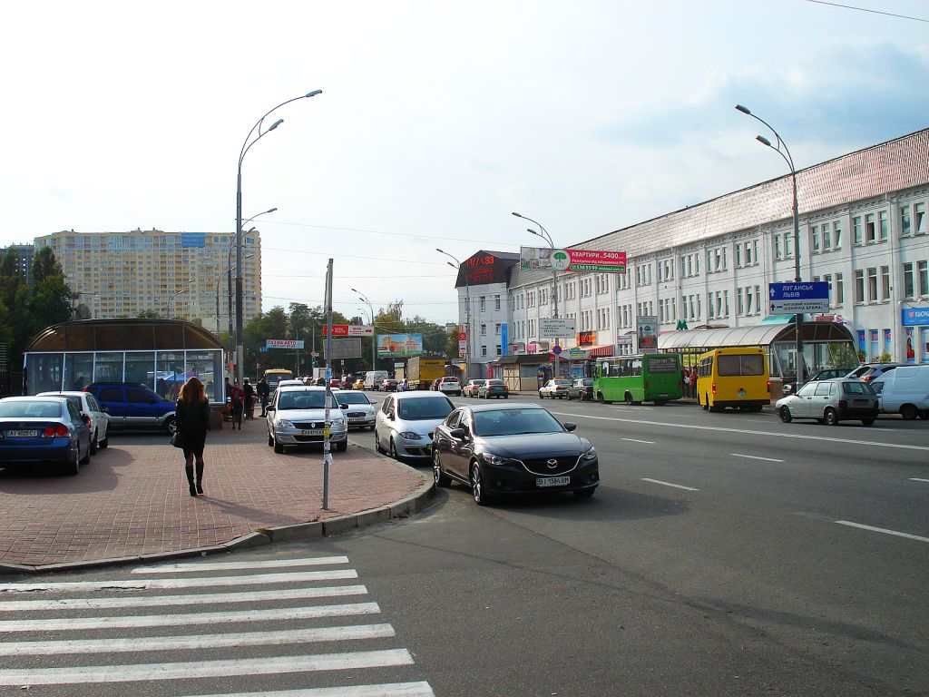 Vasilkovska Boulevard in the South West of Kiev