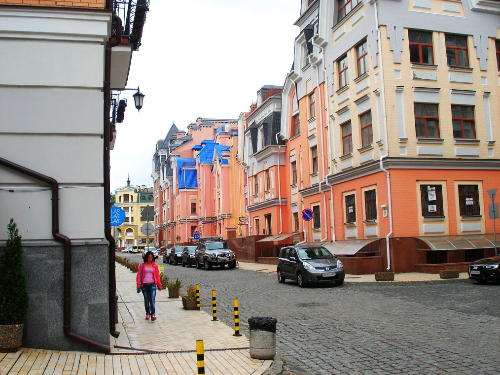 Kiev-Vozdvizhenka: The most undiscovered part of town in an almost undiscovered city.