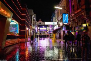 Big night out on Hamburg's Reeperbahn, the city's world renowned nightlife district. Picture: Flickr