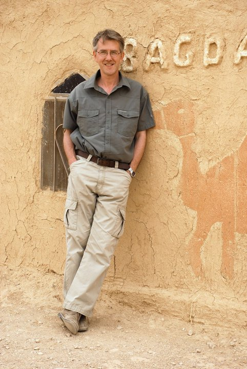 Duncan Smith in pre-war Syria. Photo D. Smith