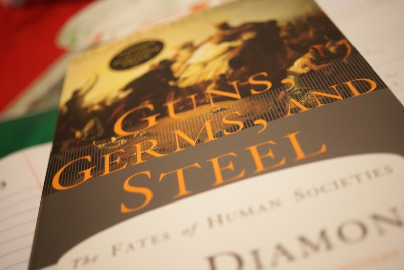 guns germs and steel essay Guns, germs and steel essay - part 3 in our current society, different ideologies and beliefs have sprung out - guns, germs and steel essay introduction the continuous changes in the world in the aspects of technology, environment and the global community have created a world very different from the past.