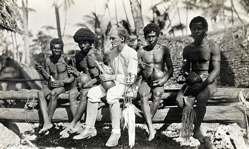 Malinowski on the Tobriand Islands in 1914