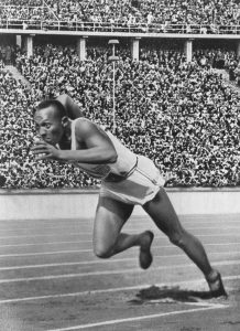 US athlete Jesse Jackson during the 19336 summer Olympics in Berlin. Jackson, one of the few black athletes on the American team,set up a new Olympic record, enraging Hitler so much that he left the Olympic Stadium prematurely | Photo: Wikimedia Commons