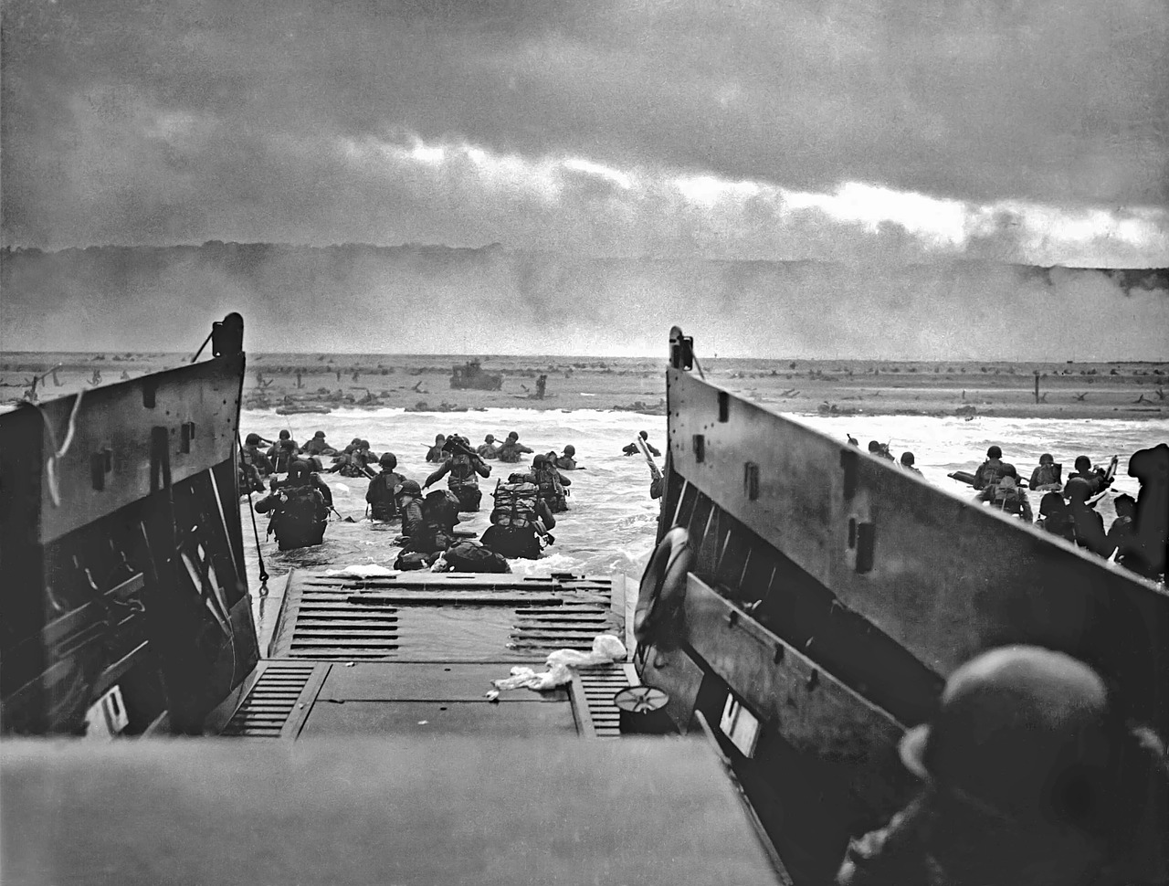 Allied Invasion On The Normandy Coast Line Begins [June 6, 1944]