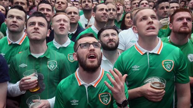 The Good, The Bad And The Irish. Fans of The Euro 2016