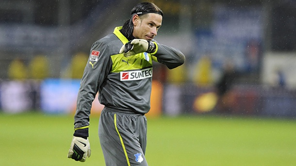 "TSG Hoffenheim 1899 was a turning point for Tim Wiese. Playing only 11 matches Wiese was quickly put in the infamous ""Ersatzgruppe 2"" where the 32-year olfd Wiese was training among aging professionals and even amateurs. Photo: T-Onlineg aging talent and"